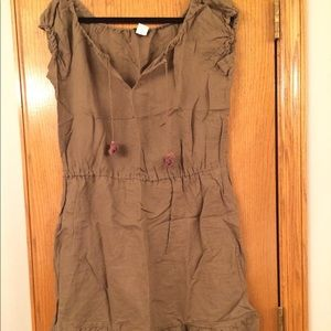 J. Crew brown dress